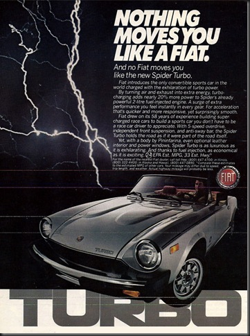 Fiat Spider as 1982