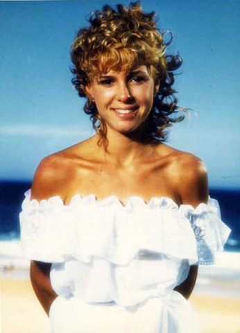 Kristy Mcnichol close up from th Pirate Movie