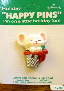Holiday Happy pins